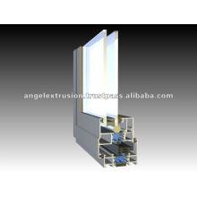 Extrusion d'aluminium pour fenêtres à battants