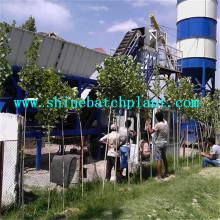 30 Planta de procesamiento por lotes de concreto móvil de la venta
