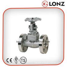 Válvula de aço em aço inoxidável ANSI