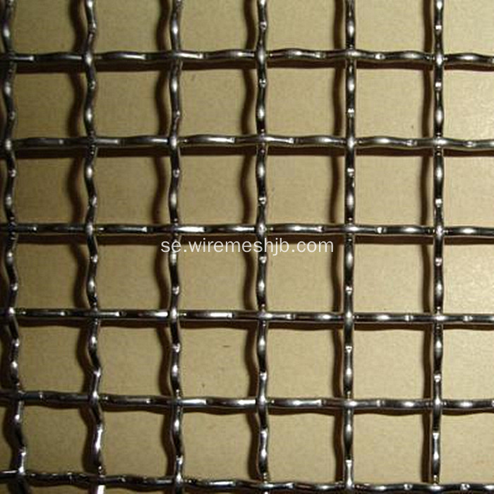 SS304 316 Crimped Wire Mesh