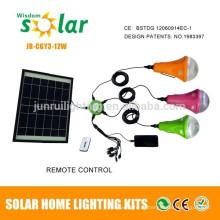 Painel solar de CE & patente levou luz de acampamento (JR-SL988B 6W bulbos)