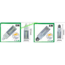 3 años de garantía 5W SMD G24 LED Pl Light