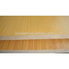 plywood melamine finish/plywood with laminated finish kitchen cabinet