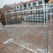 Galvanized then PVC coated Canada Standard Temporary Fence
