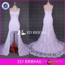 ED Bridal New Collection Sweetheart Neck Short Front Long Back Lace Mermaid Wedding Dress