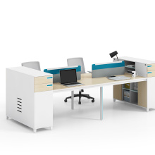 Customized Office Workstation with File Drawers Office Computer Desk