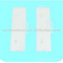 95mm Weiße Plastikleiste Vertikale Blindbügel-Vertikale Blindkomponenten, Vorhangzubehör