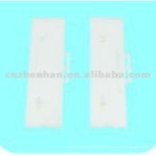 95mm White plastic slat vertical blind hanger-vertical blind components,curtain accessory