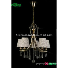 European-Style Cloth Lighting with Crystal (D-8160)