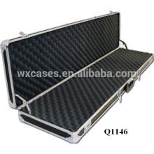 new design!!!strong aluminum rifle gun case with foam inside wholesales