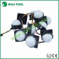 O IP66 DC12V 50mm 6pcs SMD 5050 DMX RGB conduziu o ponto do pixel para a iluminação exterior