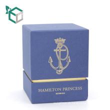 Kreative Welle Linie öffnen Satin einfügen billige Parfüm Anpassung Service Logo Private Marke kosmetische Parfüm Box