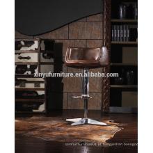 Saco de couro de alta qualidade para banquetas de bar A619