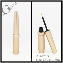 Aluminio redondo delineador de ojos tubo/delineador envase AG-YC03, empaquetado cosmético de AGPM, colores/insignia de encargo