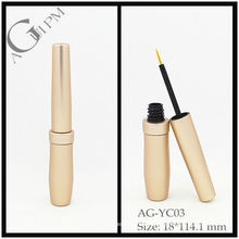 Aluminium Round Eyeliner Tube/Eyeliner Container AG-YC03, AGPM Cosmetic Packaging , Custom colors/Logo