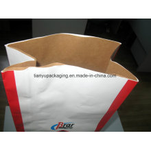 Large Brown Kraft Paper Bag Open Mouth Square Bottom