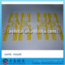 Plastic handle hair comb injection moulding comb injection moulding