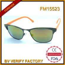 Новый дизайн металла солнцезащитные очки с логотип в Китае FM15523