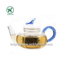 Clear Single Wall Glass Teapot by SGS... (750ML)