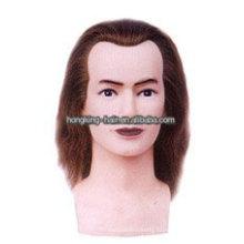 100% Реальные Человеческие Волосы Парикмахерские Учебные Головы