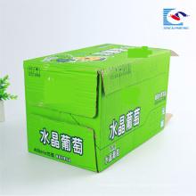 Bebidas personalizadas de alta calidad fabricantes de cajas de cartón corrugado