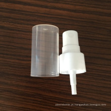Pescoço 20 Perfume de plástico Mini bomba de pulverizador de névoa fina Bomba lisa