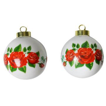 MK-Ball Sublimation Ornamento de bola de Natal Bauble