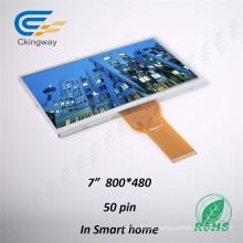 """7"""" 50 Pin RGB Interface LCD Screen Display Module"""