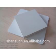 Blanco PVC espuma tablero tamaño 1.22 * 2.44m color blanco