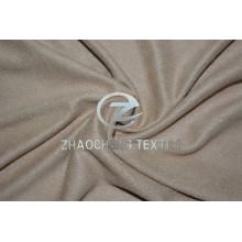 Micro suède tricoté extensible 2 façons avec toucher doux pour les vêtements