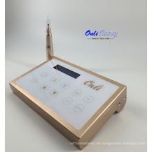 Fuente de alimentación digital para la máquina de maquillaje permanente pantalla táctil