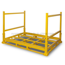 Zusammenklappbare Warehouse Faltbare Metalllagerung Stacked Tire Rack