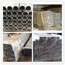 Tubo redondo de alumínio expulso do material de construção 6063
