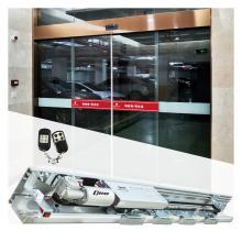 commercial automatic glass sliding door sensor door mechanism with heavy duty