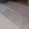 Direkte fabrik versorgung feuerte galvanisierte defensive barriere konstruieren gabion box