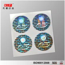 Benutzerdefinierte 3D holographische Siegel Sicherheitsaufkleber