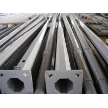 Polygonal Hot DIP Galvanized Light Steel Pole