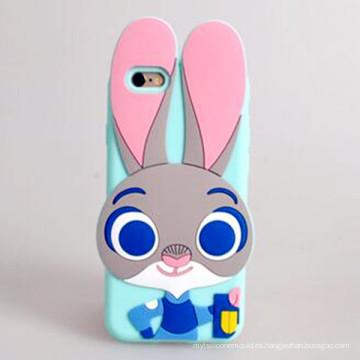 2016 colorido de moda Personalizar silicio cubierta para teléfono celular