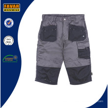 Hardwearing Hound Multi Pocket Craftsman Shorts Khaki Black