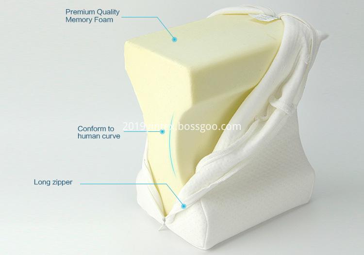 knee pillow memory foam