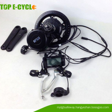 Mid drive bafang 8fun brushless motor electric bicycle conversion kits