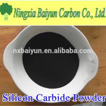 high purity 98% black silicon carbide powder for glass polishing