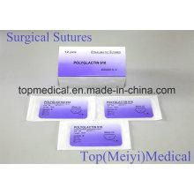 Sutura Quirúrgica / Sutura con Aguja Absorbible Suture Polyglactin 910