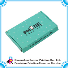 Free sample colorful recycled custom brand shipping box corrugated