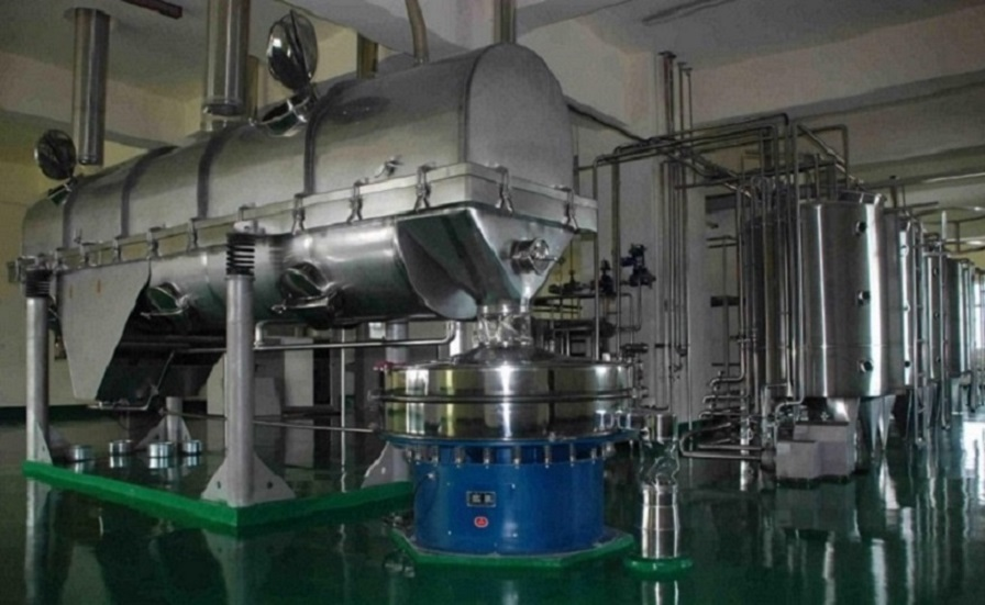 Vibrating Bed Dryer / Chemical Product Drying Machine