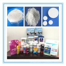 Циануровая кислота таблетки для очистки воды химических веществ (стабилизированный хлор) Стабилизатор
