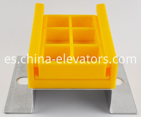elevator traveling cable clamp with bracket