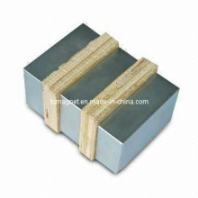 Block Magnets Seperated with Spacers