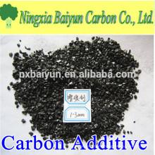 1-3mm low sulphur 0.05% calcined petroleum coke carbon additive