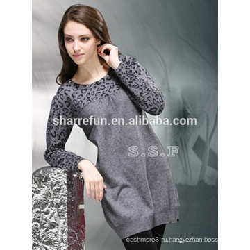 фабрика подгонять различные стили женщин 100% кашемировый свитер платье
